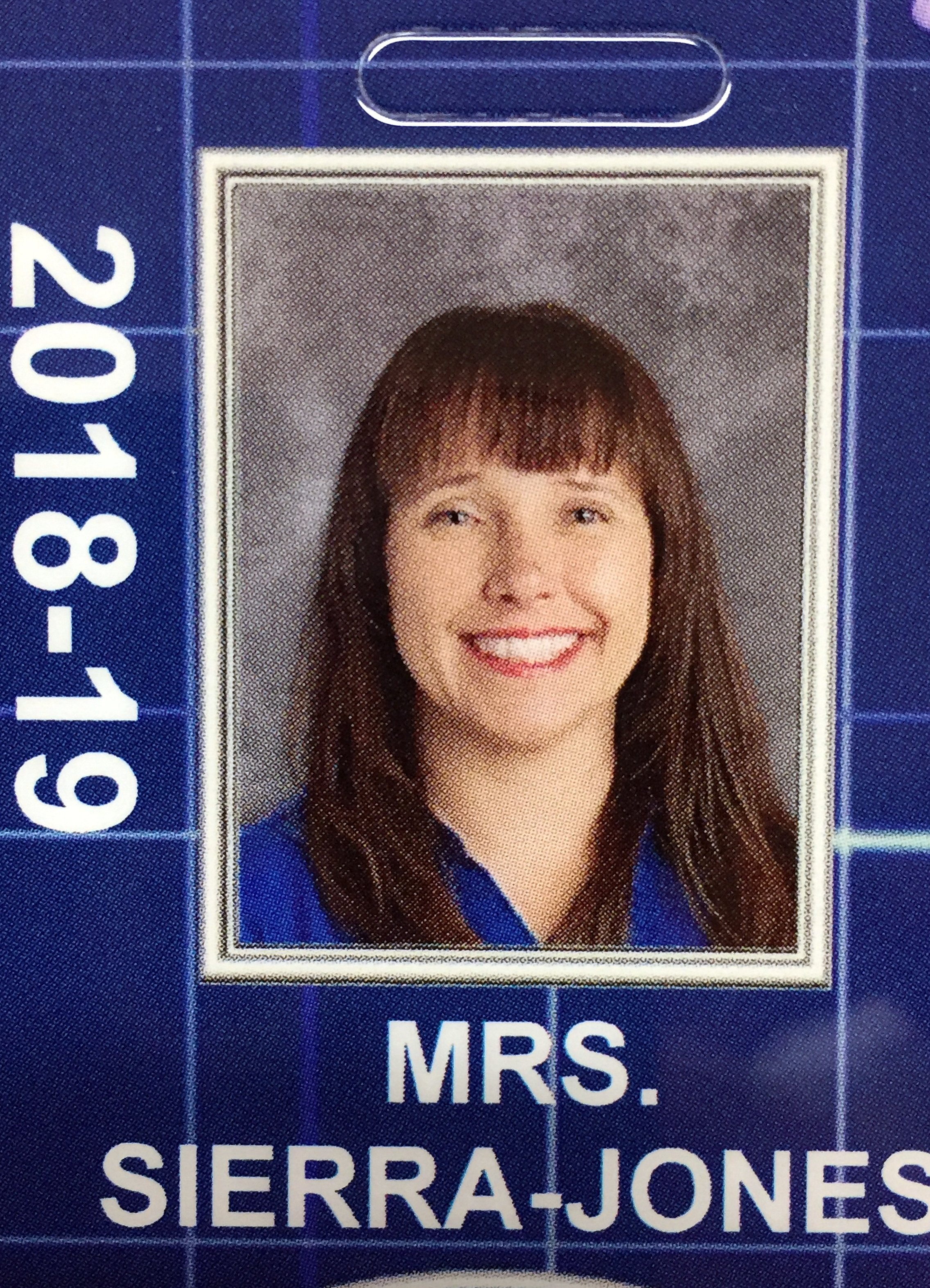 Christina SierraJones School ID