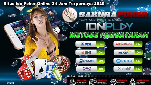 Situs Idn Poker Online 24 Jam Terpercaya 2020
